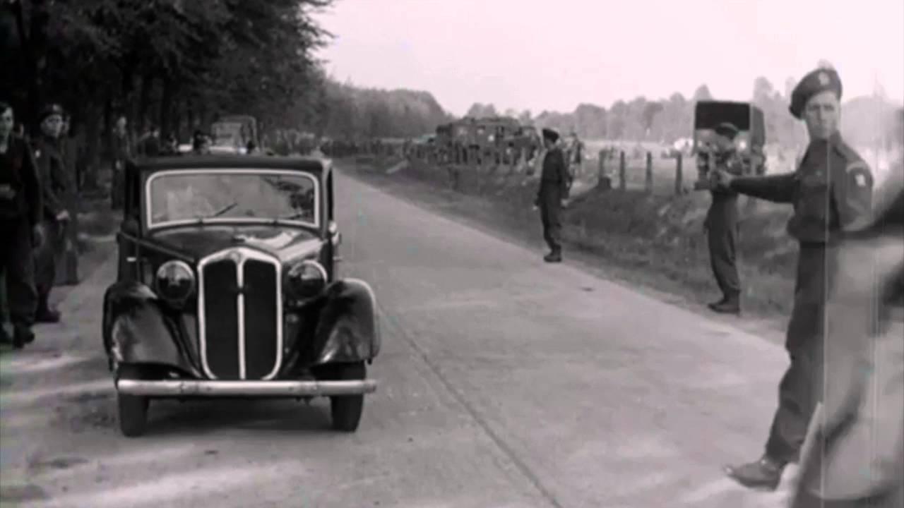 Rare Footage : German Surrender 1945, Heer, Fallshirmjager and Luftwaffe Troops