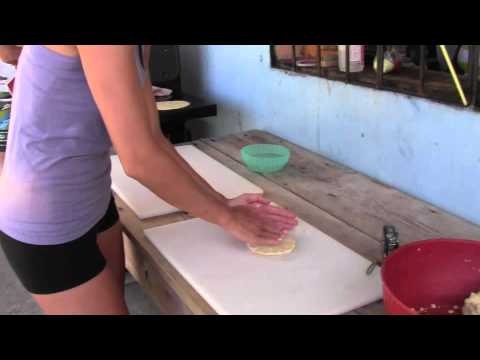 How To Make Tortillas While Surfing in Nicaragua