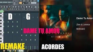 Acordes Remake Instrumental Zion Y Lennox Dame Tu Amor | Reggaeton 2016