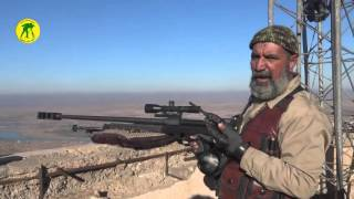 Iraqi Popular Mobilization Units Sniper kills 173 ISIS fighters  -  Abu Tahseen 5 war veteran