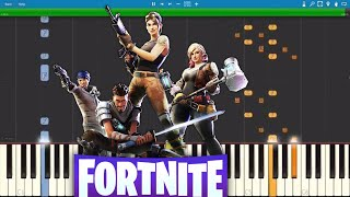 Fortnite Dances On Piano Compilation - Piano Tutorial width=