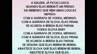 Vodka Slova- Wesley Safadão