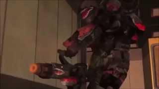 red vs blue skrillex bangarang