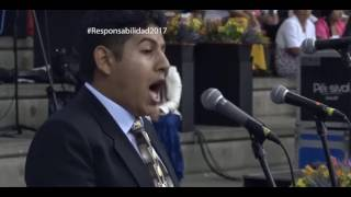 Hermano del MMM del Perú cantando OPERA cristiana
