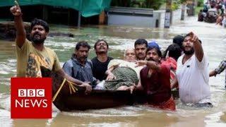 India Floods: Worst floods in 100 years - BBC News width=