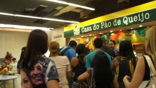 Chegada de Simaria em Manaus (6/7/13)