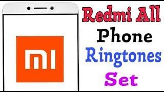 Xiaomi Redmi ||  Change Ringtones || Choose online ringtone || Choose local ringtone