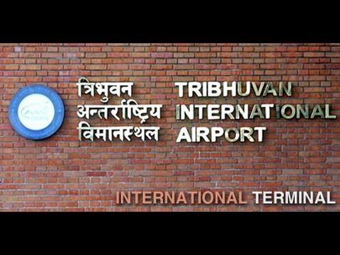 Buddha air , Kathmandu-Nepal Tribhuvan International Airport landing