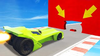 FIT Through The GAP AT 450MPH! (GTA 5 Funny Moments)