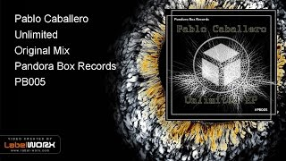 Pablo Caballero - Unlimited (Original Mix)