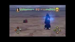 Naruto Shippuden Ultimate Ninja Storm 2 - Itachi Vs Sage Naruto