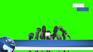 Layout de Jornal #2 - News Layout #2 / Green Screen - Chroma Key