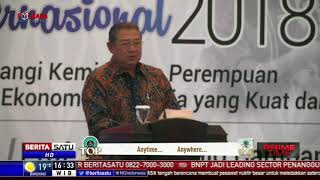 SBY Puji Megawati Soekarnoputri Sebagai Perempuan Sukses
