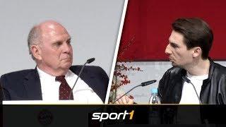 Brandrede! Fan des FC Bayern attackiert Uli Hoeneß | SPORT1