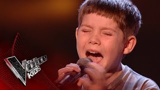 Jake performs 'All of Me': Blinds 2 | The Voice Kids UK 2017