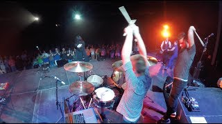 Jamie Grace - Do Life Big - Drum Cam (feat. Citizen Way) - 5-3-2014