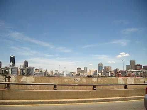 South Africa – the skyline of johannesburg