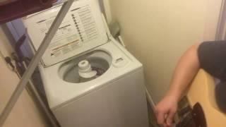 Thunderstruck White Trash Washer Cover