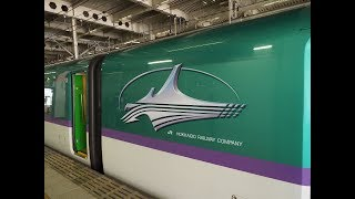 【FHD】東北新幹線 はやぶさ・こまち17号(E6系+H5系) 仙台駅到着