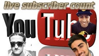 how to get youtuber live subscriber count