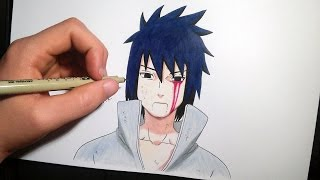 Sasuke Uchiha | Speed drawing