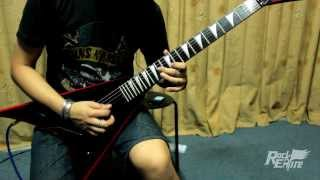 Bullet For My Valentine - Waking The Demon ( Guitar Solo Cover )
