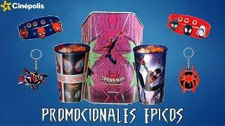 Promocionales Cine: SpiderMan Into The SpiderVerse (Un Nuevo Universo) / Cinepolis