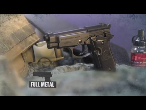 Video: Beretta M84 CO2 BB Pistol | Pyramyd Air