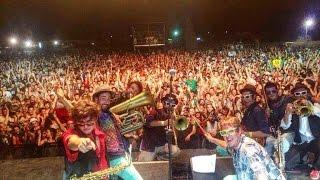 "Kumpania Algazarra - Tour ""A festa continua"" 2014"