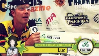 Medical Cannabis Bike Tour @ Expogrow 2014 Irun