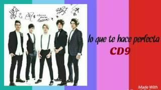 Lo que te hace perfecta -Letra- CD9