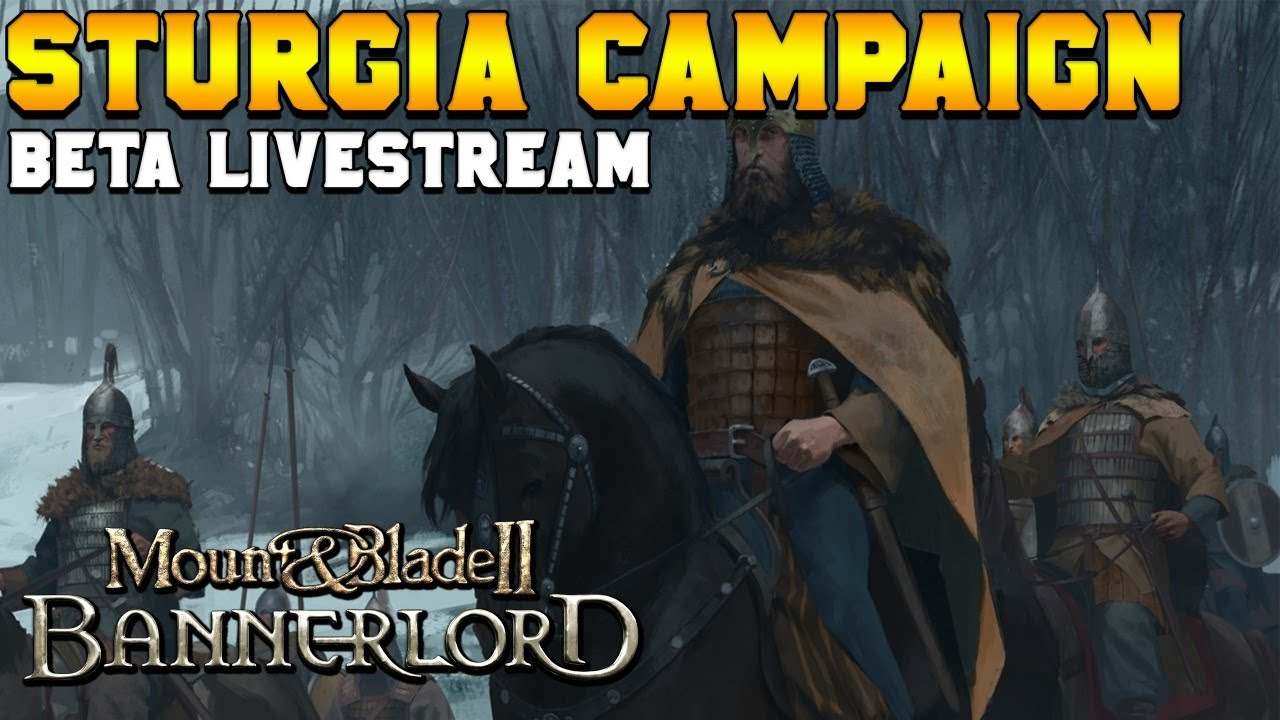 ItalianSpartacus - [1] Beta v1.5.5 Live Stream - Sturgia REALISTIC DIFFICULTY Campaign- Mount & Blade 2: Bannerlord
