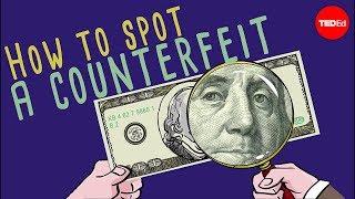 How to spot a counterfeit bill - Tien Nguyen width=