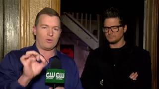 Zak Bagans and CW's Jeff Maher talk about 'Demon House' film and production issues width=