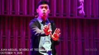 Juan Miguel Severo at TEDxDiliman