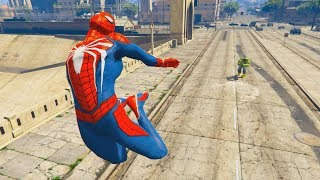 GTA 5 Hulk Vs Spiderman Ragdolls Compilation | (GTA 5 Fails Funny Moments Ragdolls)
