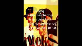 TE HAS MARCHADO _RUEK