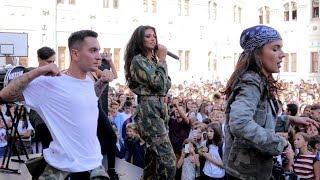 "ANTONIA | Concert in prima zi de scoala @ ""Colegiul National Gheorghe Lazar"" cu UTV"