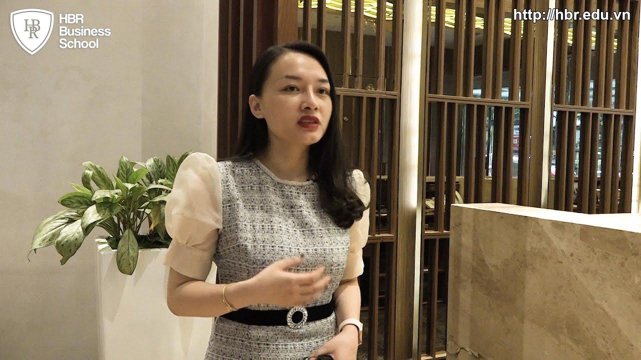 Cảm nhận học viên trường doanh nhân HBR - Chị Thân Thị Huyền Trang Giám Đốc Nhân Sự Truyền thông NQA