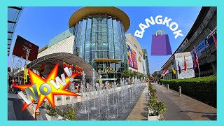 The luxurious SIAM PARAGON shopping mall, Bangkok (Thailand)