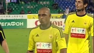 Roberto Carlos left the pitch after banana incident