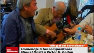 """""""Ella y el bar Sorocabana"""", homanaje de Los Cuatro de Córdoba"""