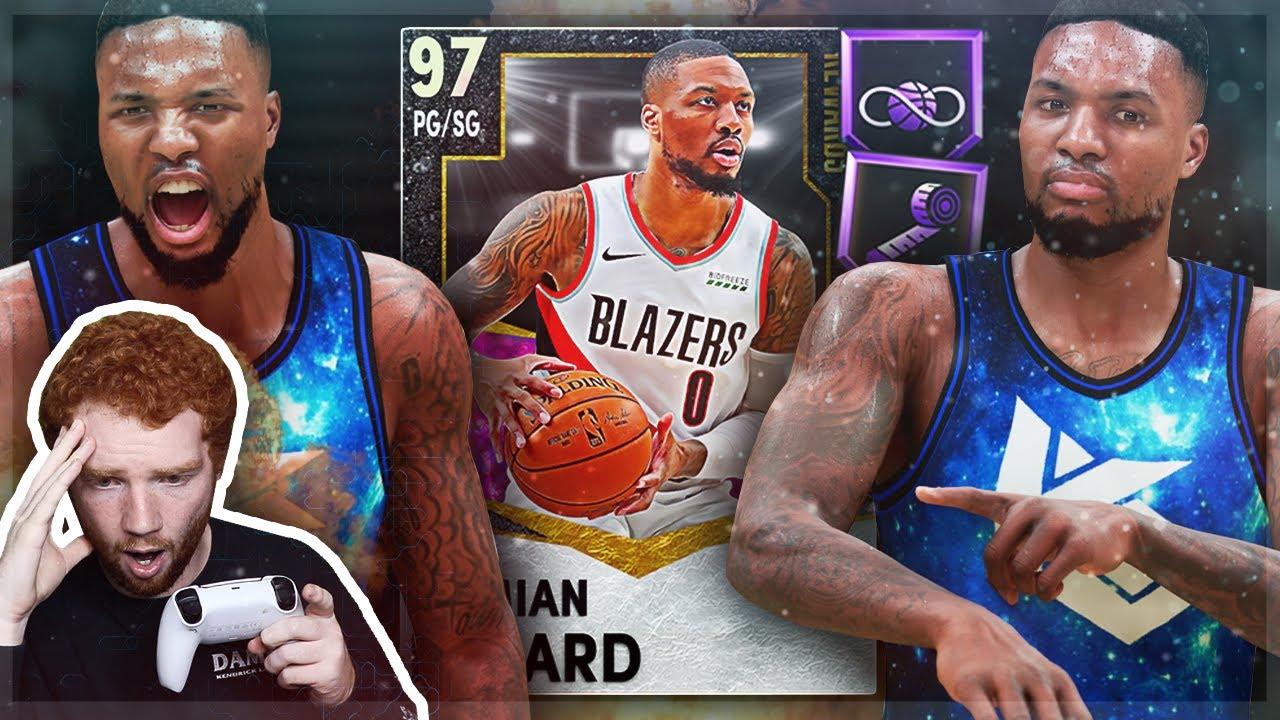 KILLZAMOI - Galaxy Opal DAMIAN LILLARD = *BEST CARD* in the GAME!! Most INSANE Gameplay! (NBA 2K21 MyTeam)