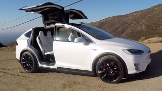 Tesla Model X P90D - One Take