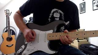 Eric Clapton - Cocaine Cover (Eric Clapton Custom Shop Strat)