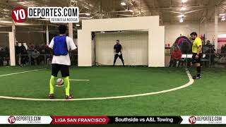 Penales Southside vs. A&L Towing Liga San Francisco