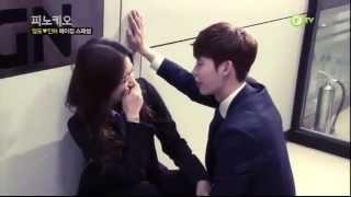 [12.12.2014. ] QTV Pinocchio Making - Lee Jong Suk & Park Shin Hye