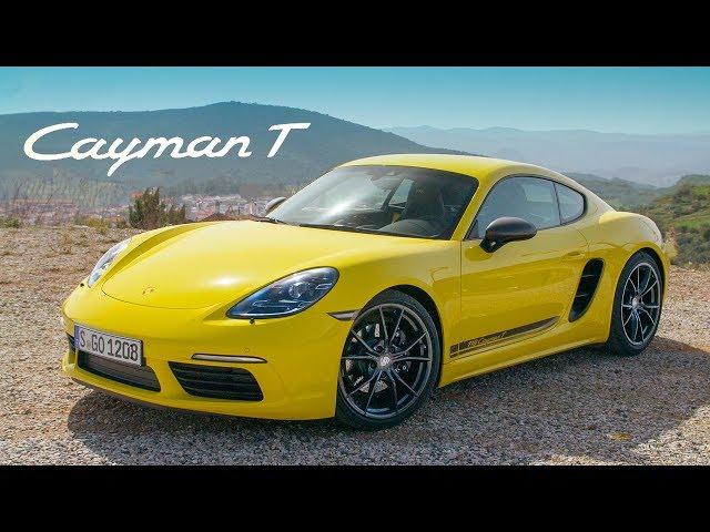 NEW Porsche 718 Cayman T: Road Review   Carfection 4K