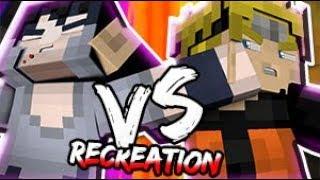 ★Minecraft Recreatión★.- Naruto vs Sasuke Final Fight | Naruto Shippuden: Storm 4 | - HD