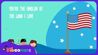 You're A Grand Old Flag Song for Kids | American Patriotic Music for Children | The Kiboomers
